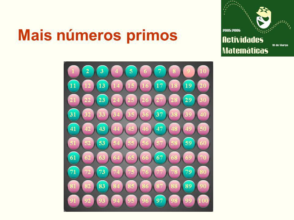 Mais números primos