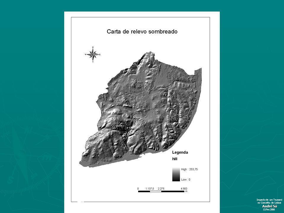 Impacto de um Tsunami no Concelho de Lisboa