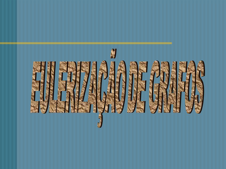 EULERIZAÇÃO DE GRAFOS