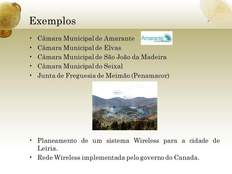 Exemplos Câmara Municipal de Amarante Câmara Municipal de Elvas
