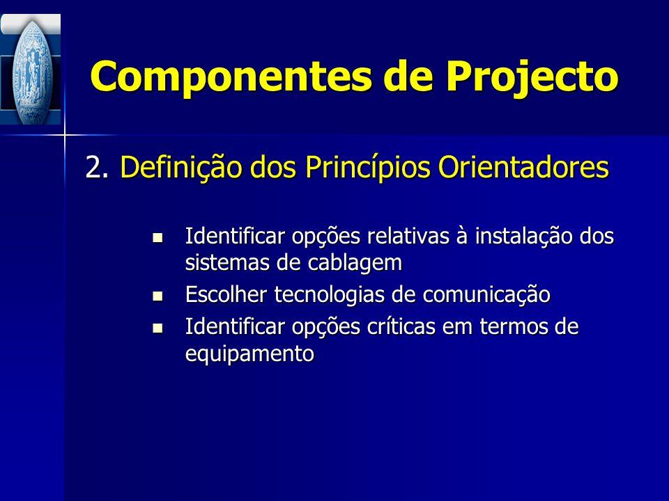 Componentes de Projecto