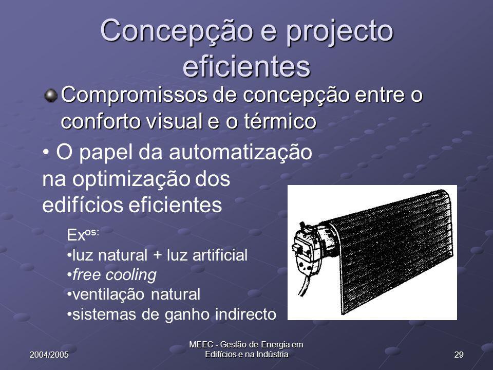 Concepção e projecto eficientes