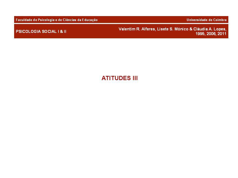 ATITUDES III