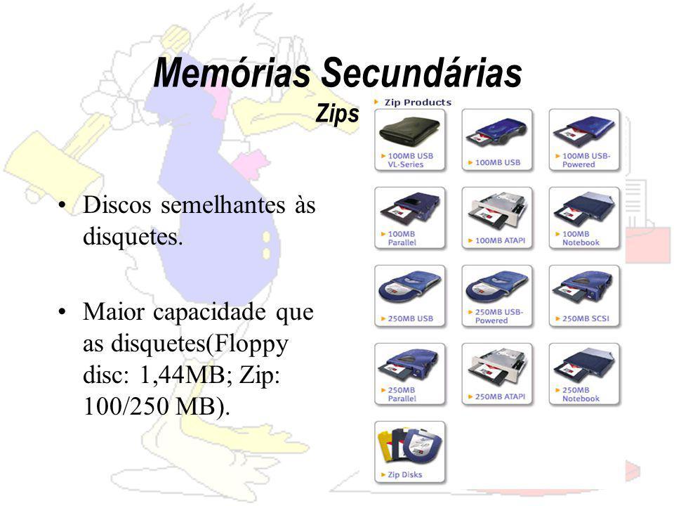 Memórias Secundárias Zips