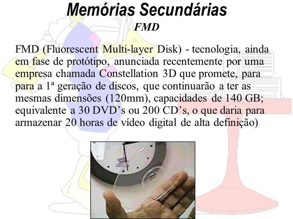 Memórias Secundárias FMD