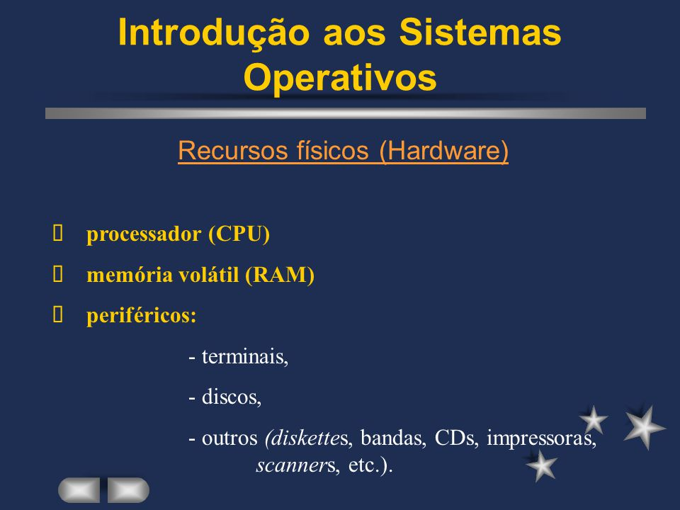 Introdução aos Sistemas Operativos