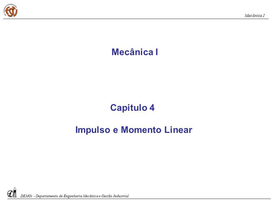 Impulso e Momento Linear