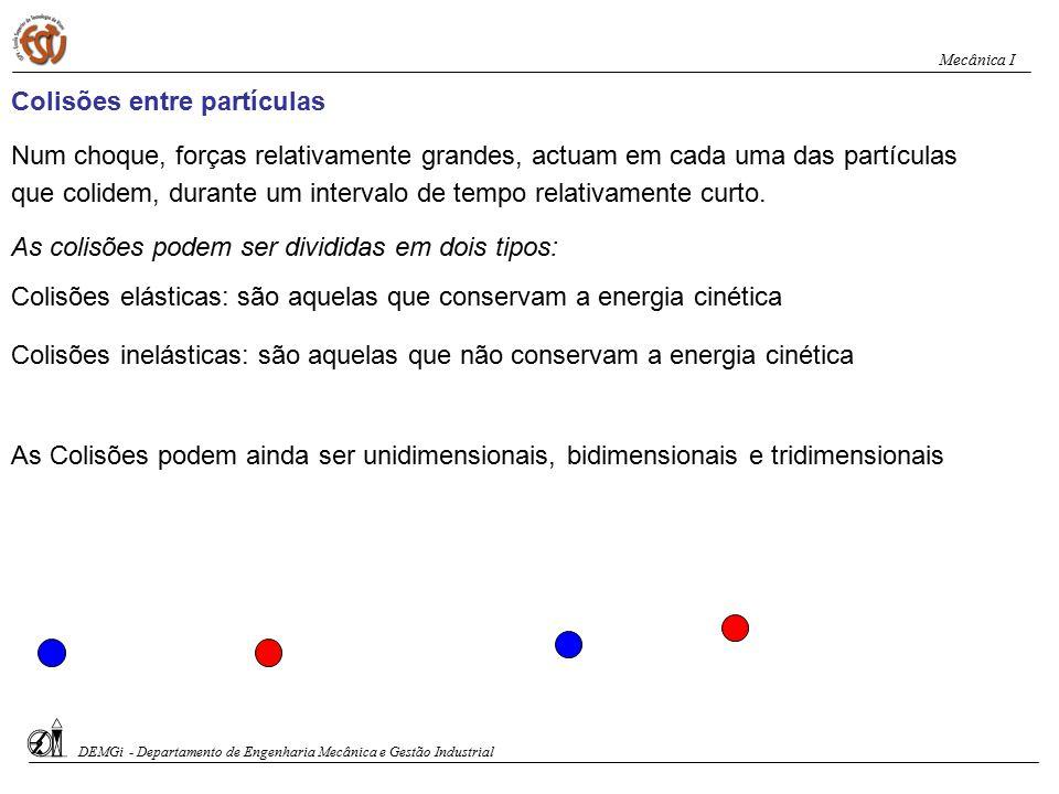 Colisões entre partículas