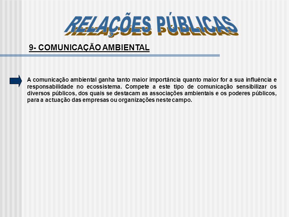 9- COMUNICAÇÃO AMBIENTAL