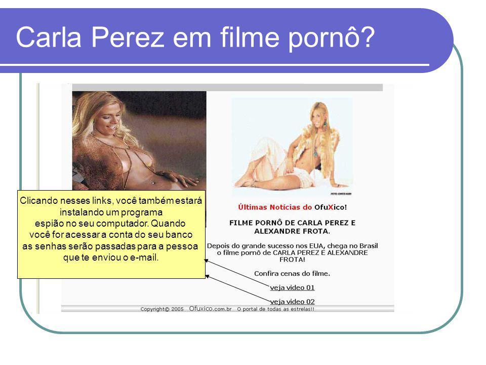Carla Perez em filme pornô