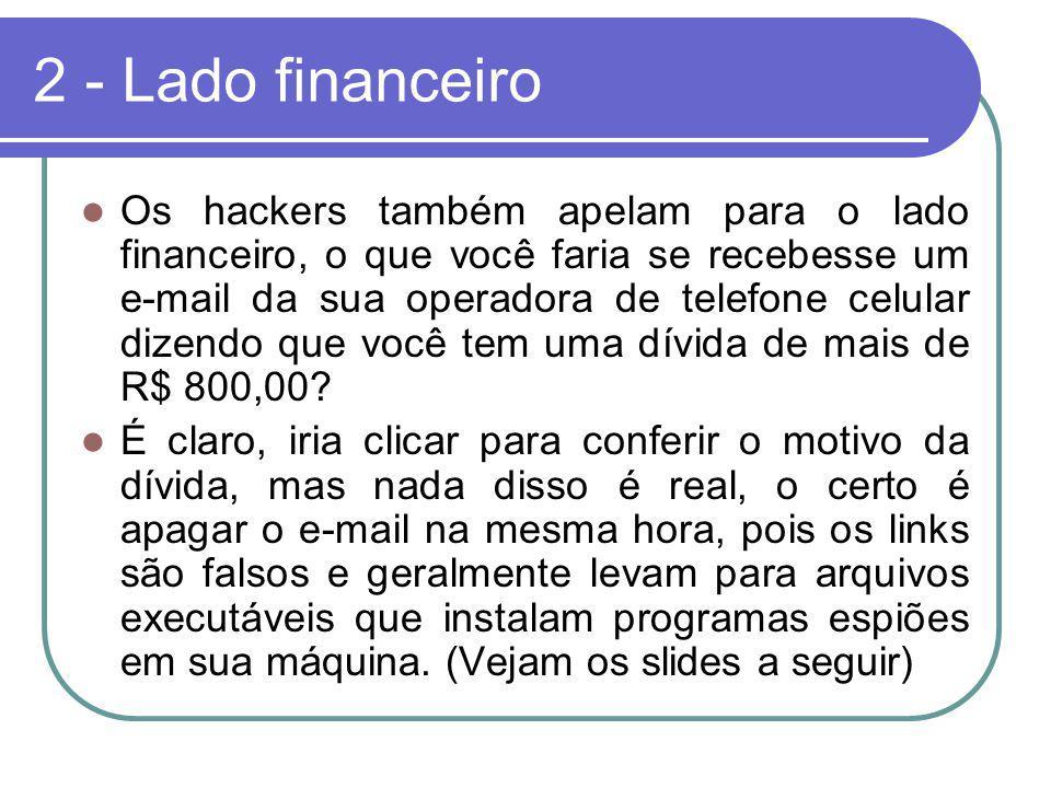 2 - Lado financeiro