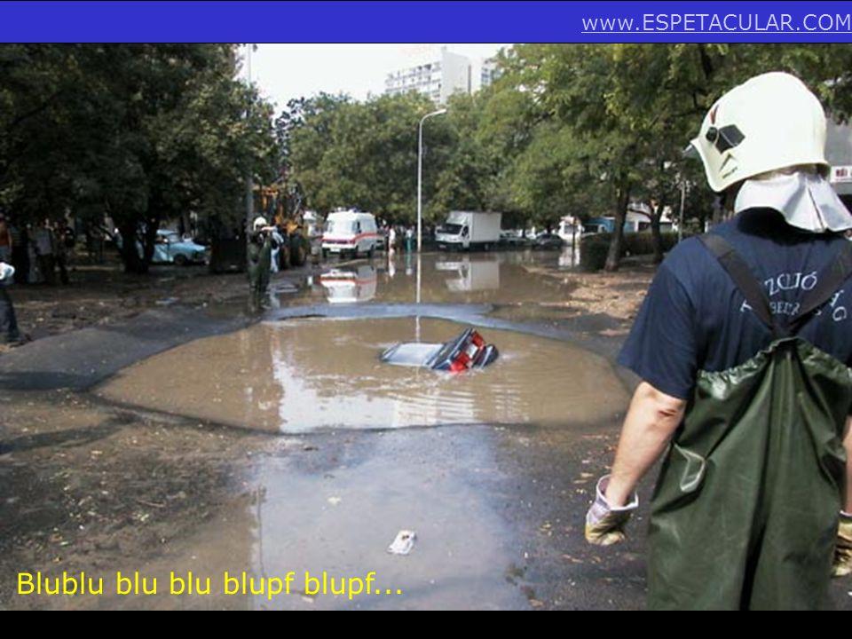 Blublu blu blu blupf blupf...