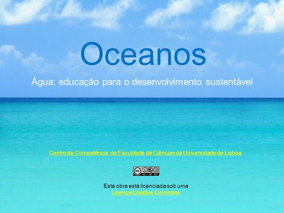Oceanos Água: educação para o desenvolvimento sustentável