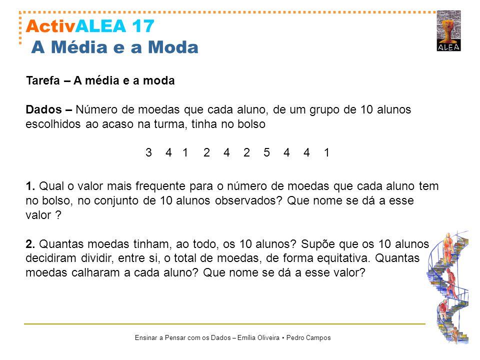 ActivALEA 17 A Média e a Moda