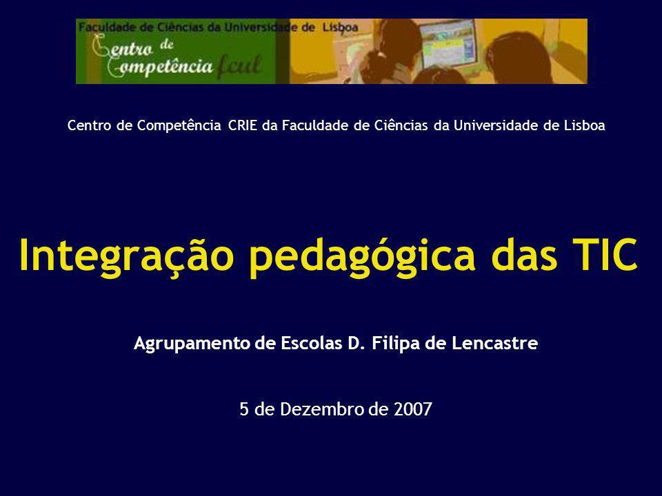 Integração pedagógica das TIC