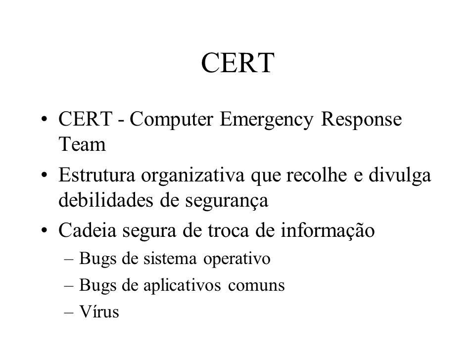 CERT CERT - Computer Emergency Response Team
