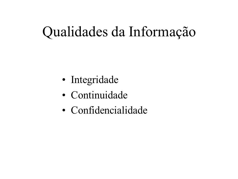 Qualidades da Informação