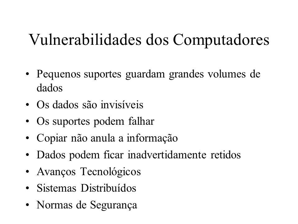 Vulnerabilidades dos Computadores