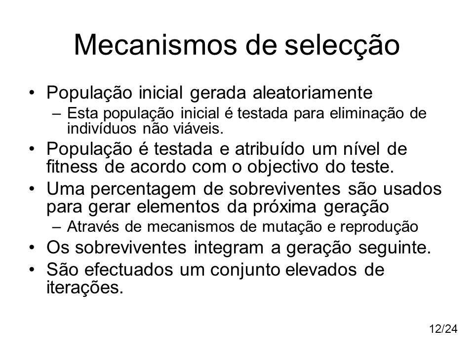 Mecanismos de selecção