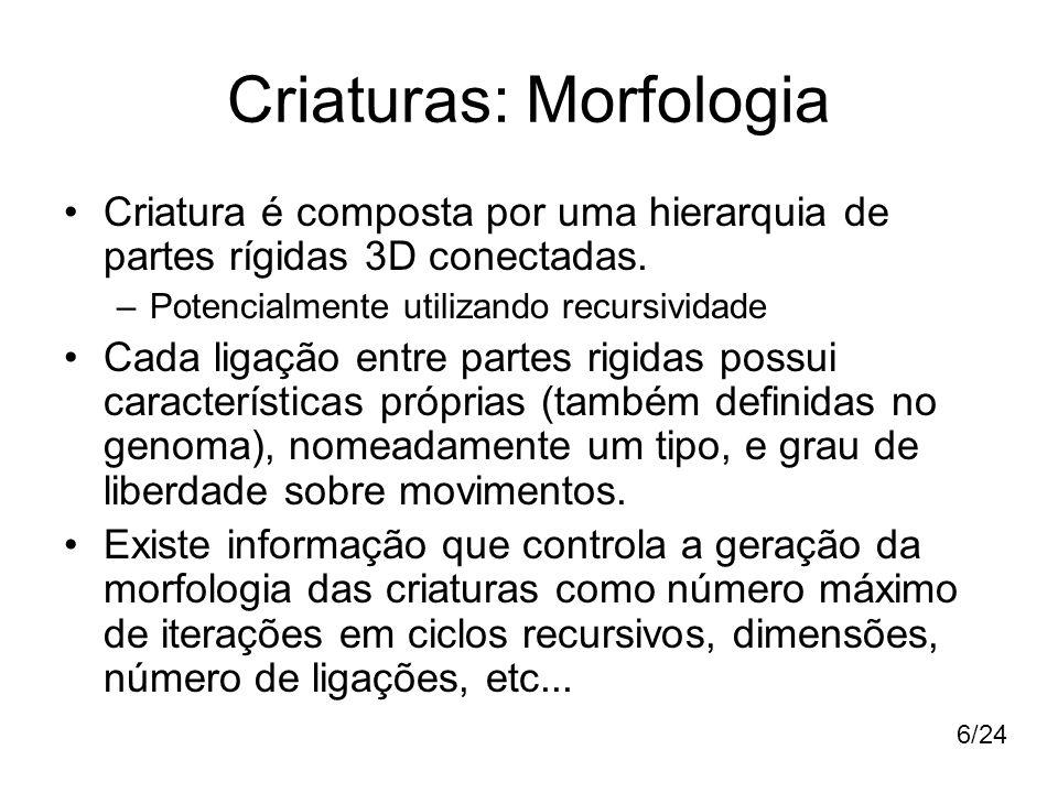 Criaturas: Morfologia