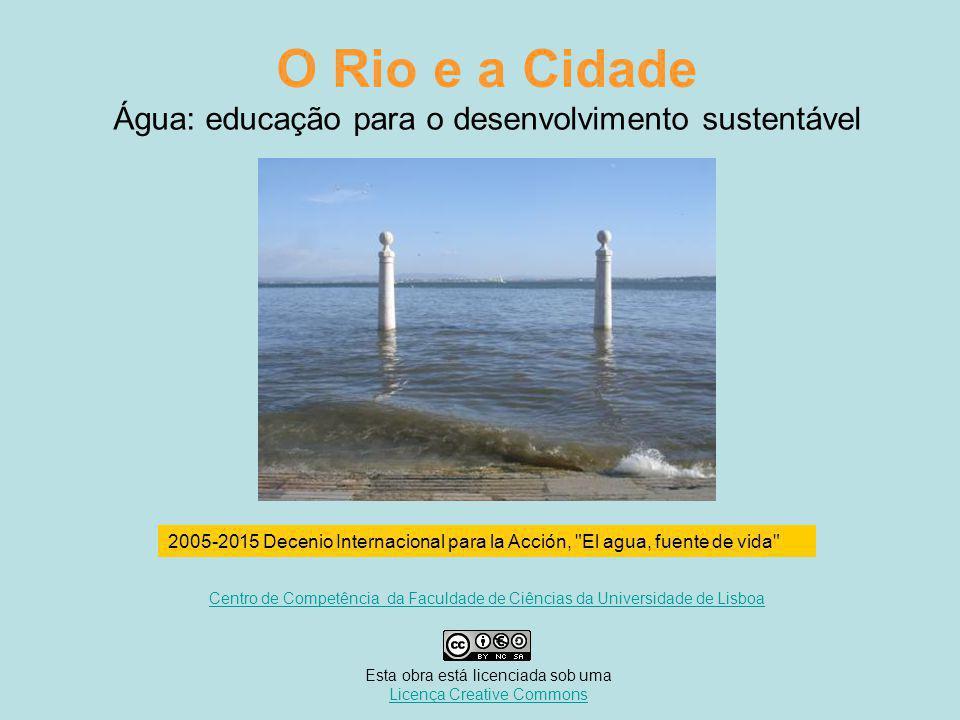 Água: educação para o desenvolvimento sustentável