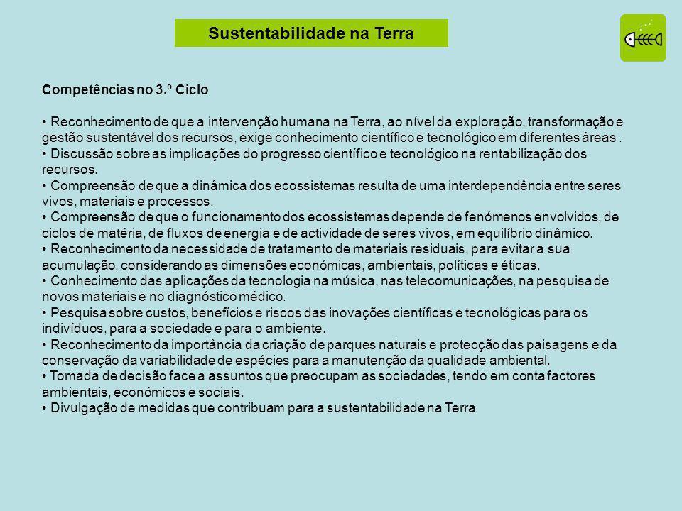 Sustentabilidade na Terra