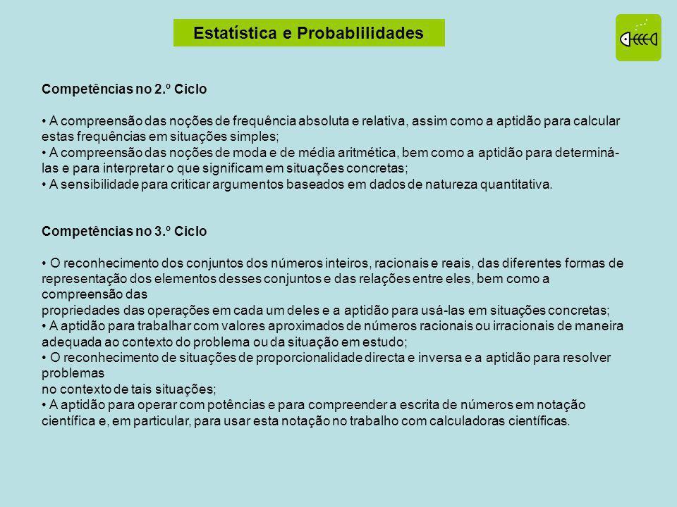 Estatística e Probablilidades