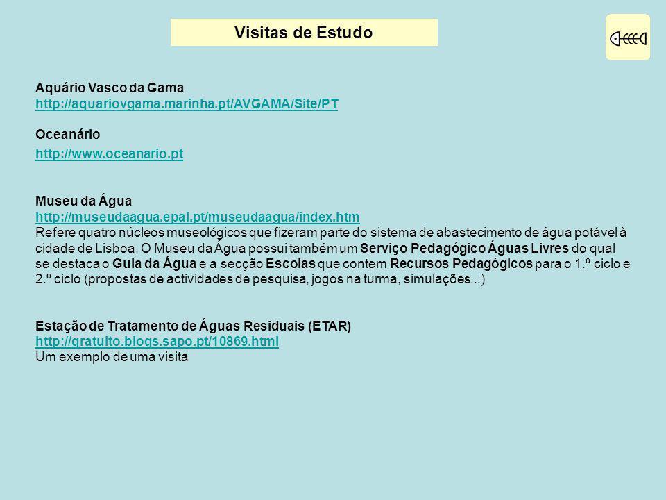 Visitas de Estudo Aquário Vasco da Gama