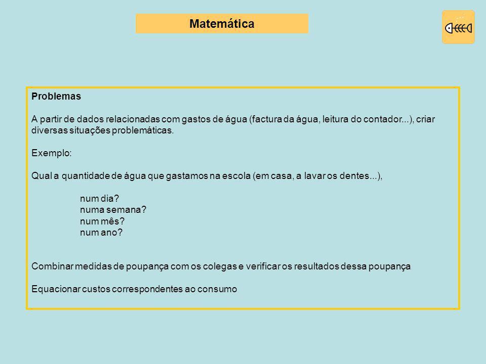 Matemática Problemas.