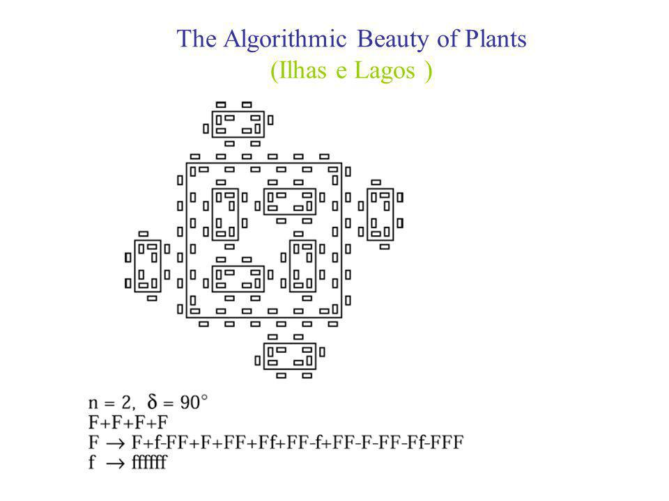 The Algorithmic Beauty of Plants (Ilhas e Lagos )
