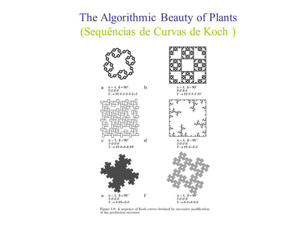 The Algorithmic Beauty of Plants (Sequências de Curvas de Koch )