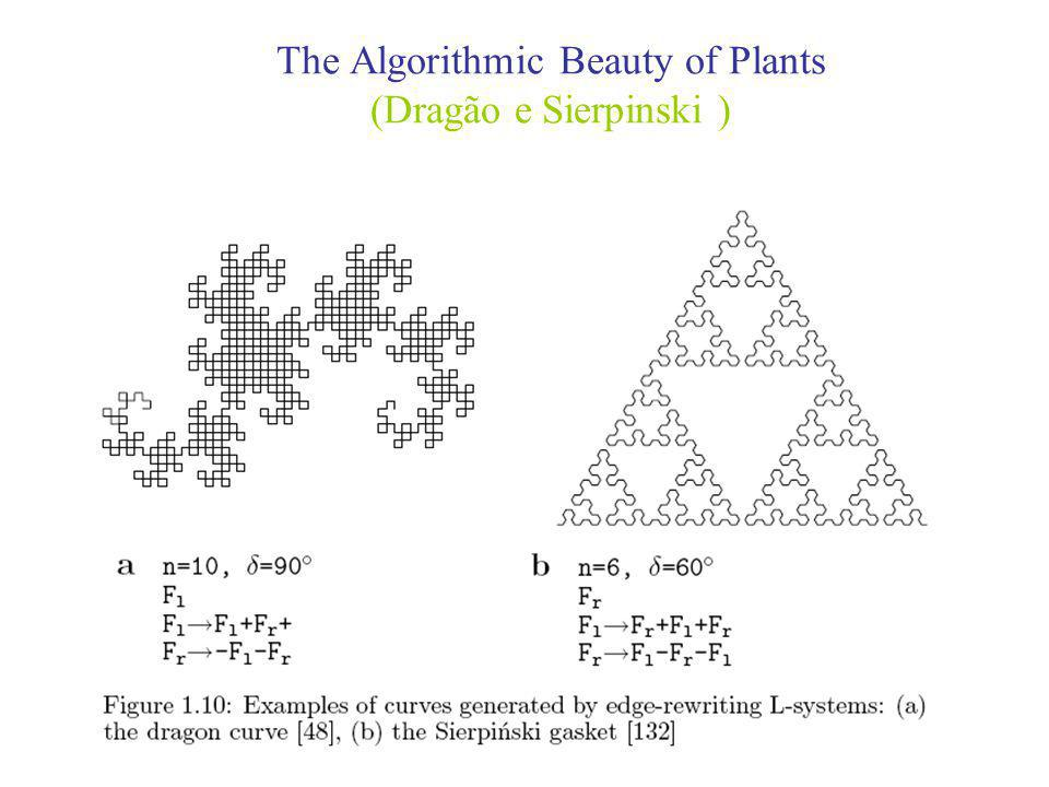 The Algorithmic Beauty of Plants (Dragão e Sierpinski )