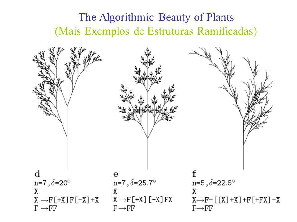 The Algorithmic Beauty of Plants (Mais Exemplos de Estruturas Ramificadas)