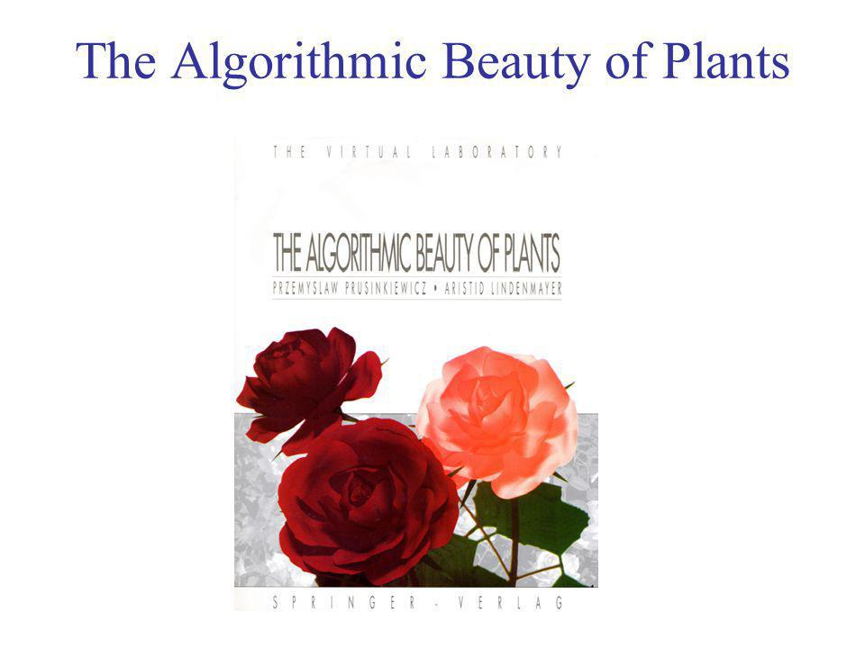 The Algorithmic Beauty of Plants