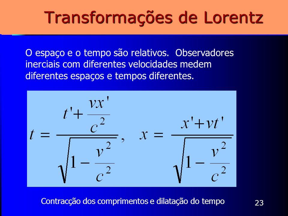 Transformações de Lorentz
