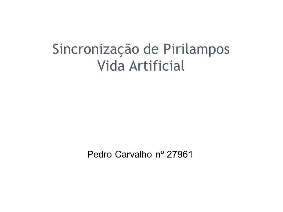 Sincronização de Pirilampos Vida Artificial