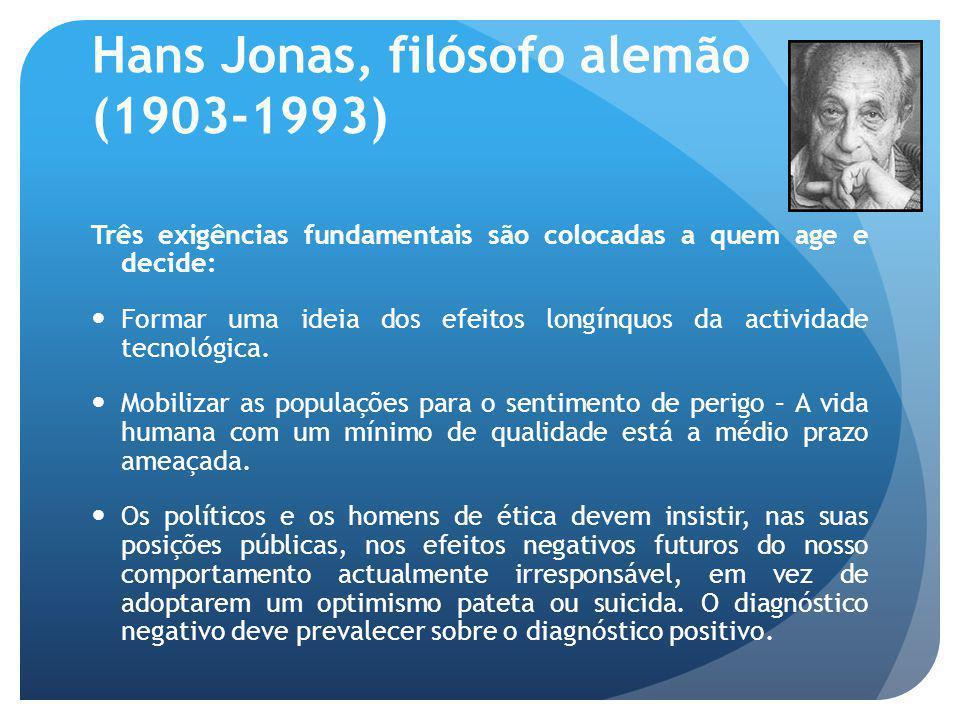 Hans Jonas, filósofo alemão (1903-1993)
