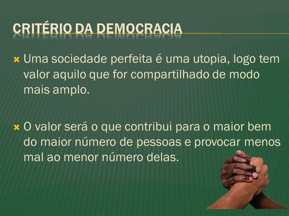 Critério da democracia