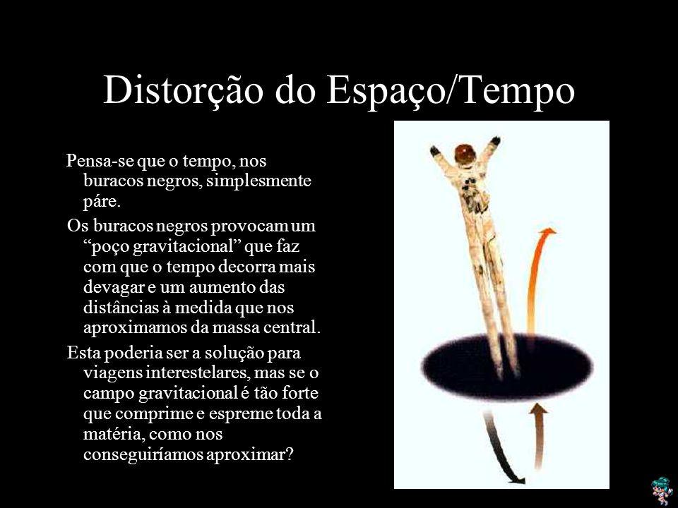Distorção do Espaço/Tempo
