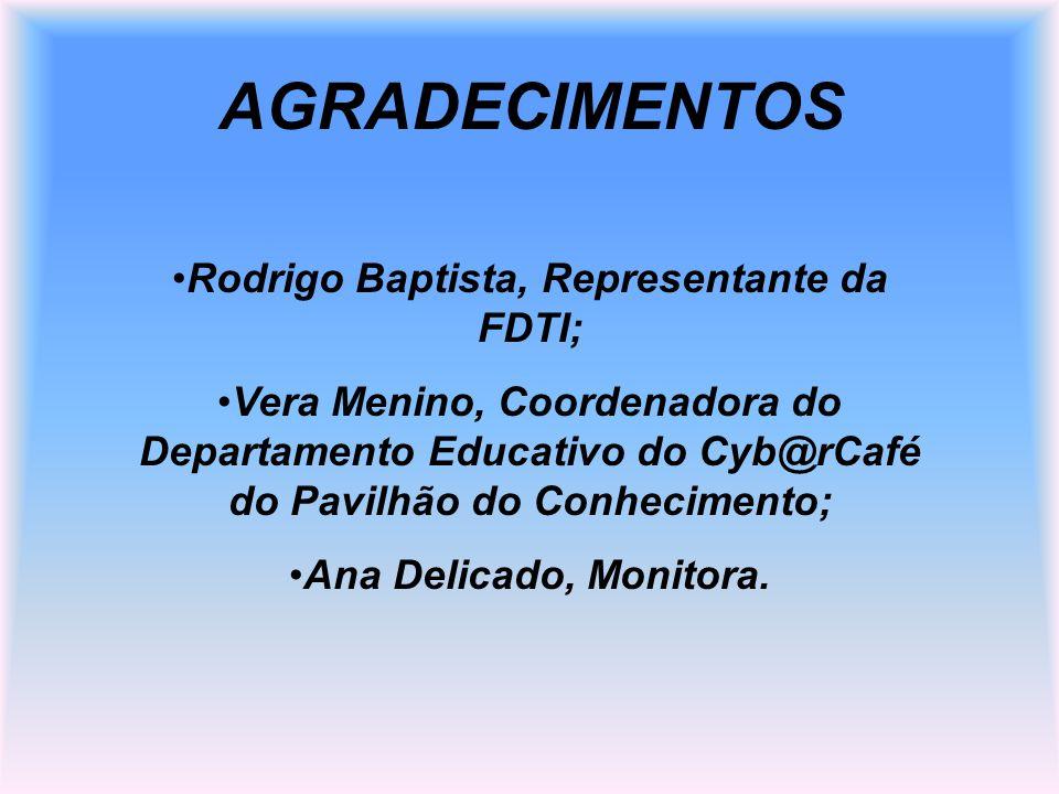Rodrigo Baptista, Representante da FDTI;