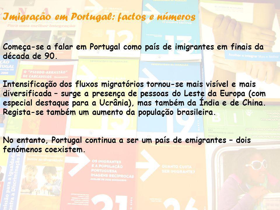 Imigração em Portugal: factos e números