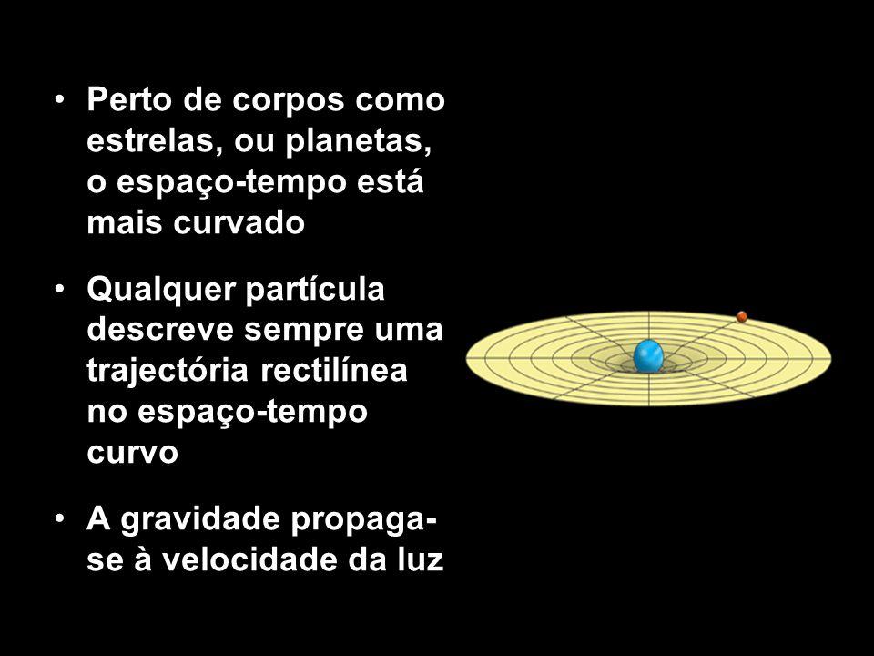 A gravidade propaga-se à velocidade da luz