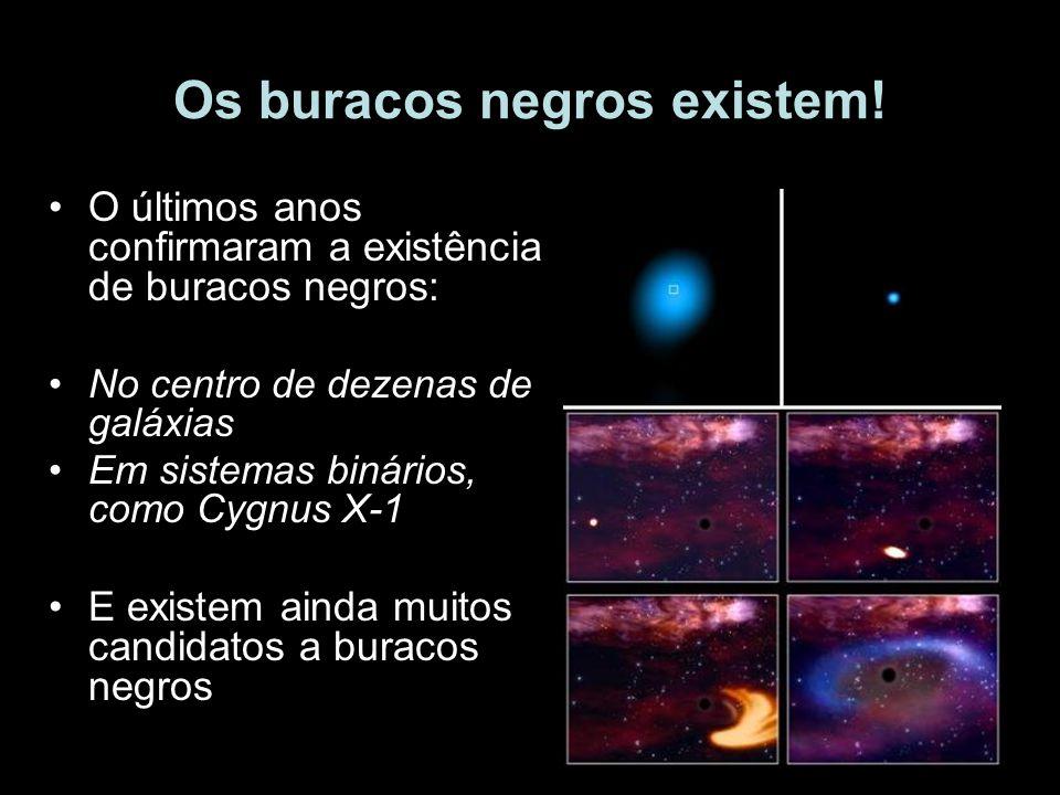 Os buracos negros existem!
