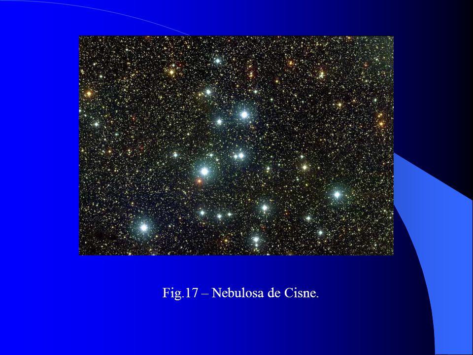Fig.17 – Nebulosa de Cisne.