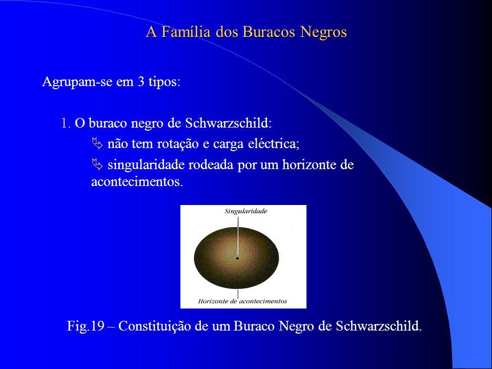 A Família dos Buracos Negros