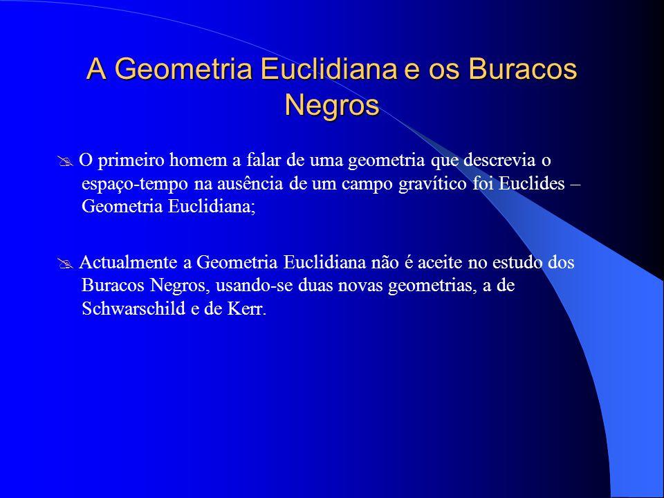 A Geometria Euclidiana e os Buracos Negros