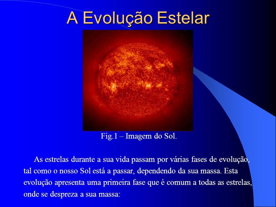 A Evolução Estelar Fig.1 – Imagem do Sol.