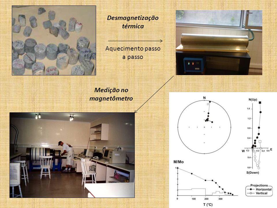 Desmagnetização térmica