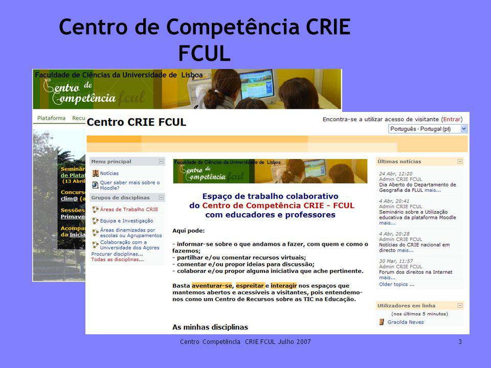 Centro de Competência CRIE FCUL