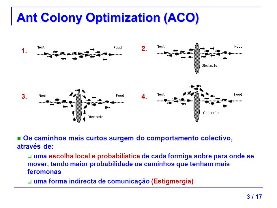 Ant Colony Optimization (ACO)